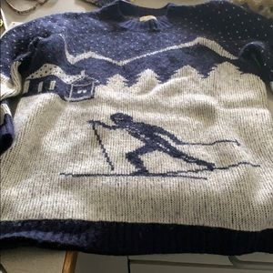 Jcrew winter ski sweater